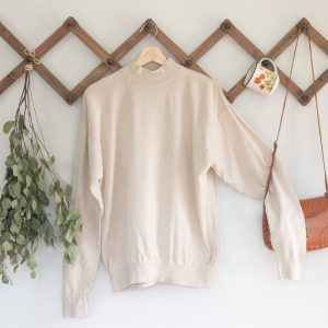 Vintage Oatmeal Sweater