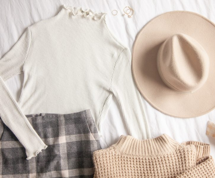 how to dress feminine in cold weather