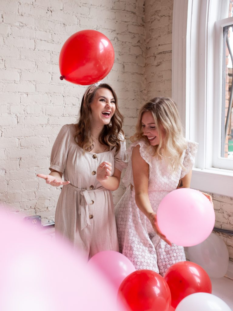 Galentine's Day Photoshoot | Image by Shelly Borga, Edited by Megan Acuna