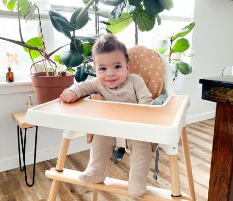 DIY IKEA High Chair Makeover